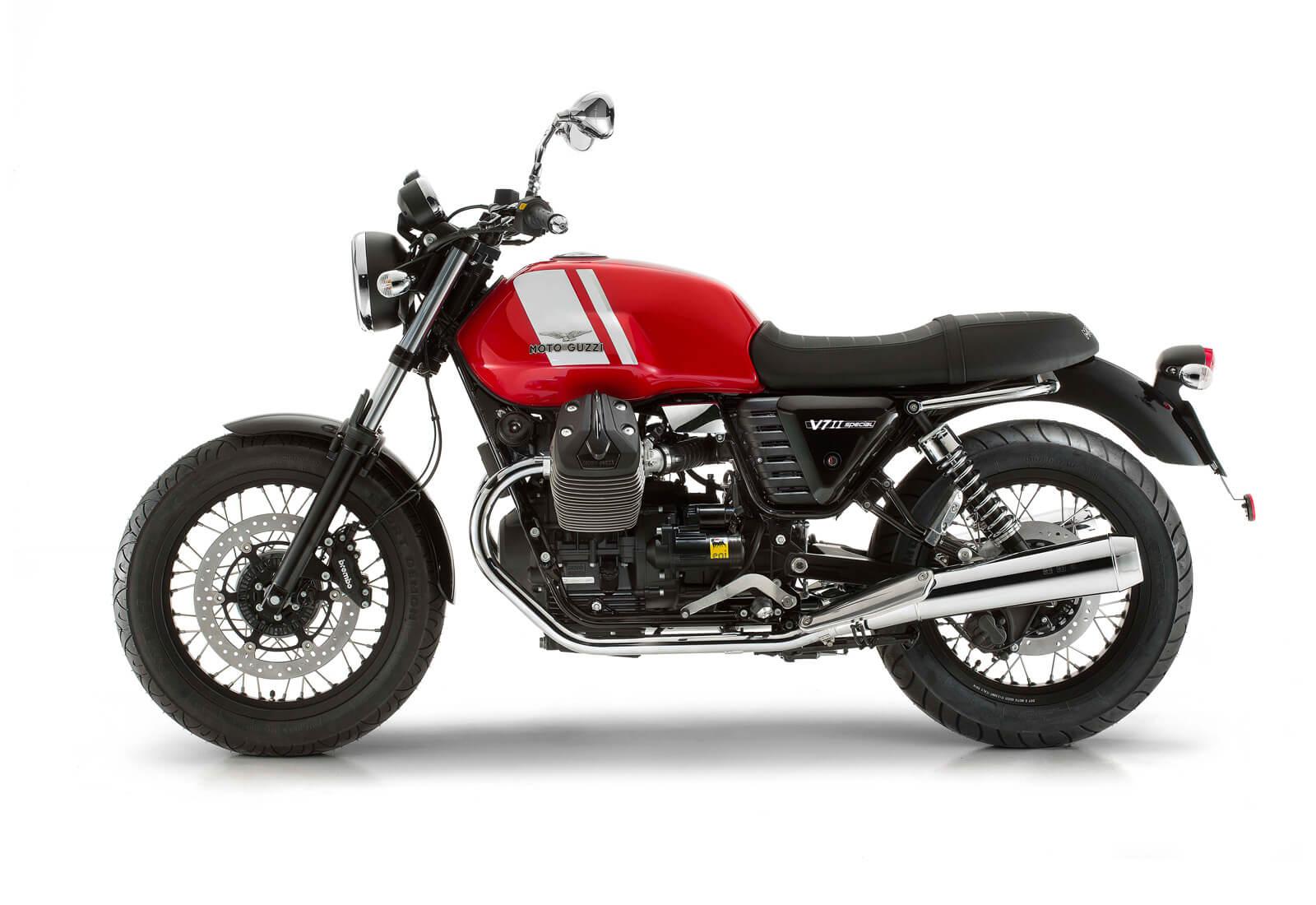 Moto Guzzi V7 II Special red