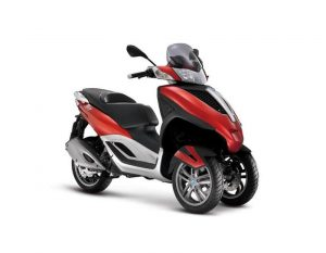 Piaggio MP3 Yourban red