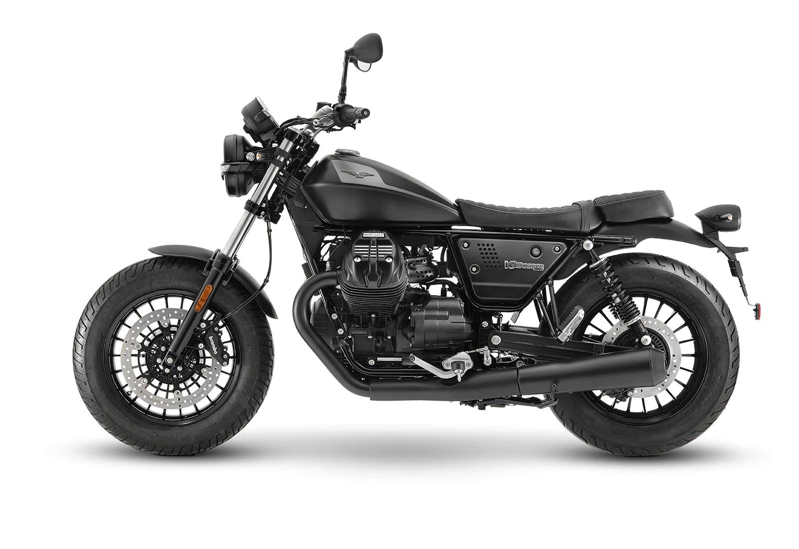 Moto Guzzi V9 Bobber gray
